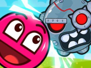 Roller Ball 3: Red Bounce Ball Love Adventure